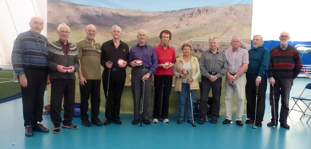 Frá vinstri: Jóhann, Ásgeir, Egill, Helgi, Árni, Helga, Ragnheiður, Guðmundur, Sigurjón, Örn og Svanur.